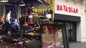 """""""Fu*k ISIS"""" na oknech Bataclanu. Jak vypadají místa, kde teror zabil 130 lidí?"""