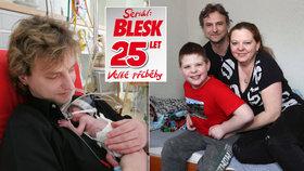 Při porodu vážil 510 gramů: Jak žije Dominik a jeho rodina dnes?