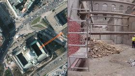 Exkluzivní záběry z tunelu pod Národním muzeem: Spojí starou a novou budovu