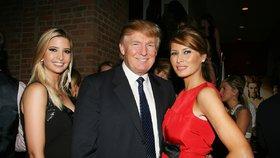 Roztržka u Trumpových? Melanie zuří, že jí Ivanka přebrala roli první dámy