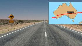 """Kluk (12) urazil autem 1300 kilometrů napříč Austrálií. """"Dojel"""" na nárazník"""