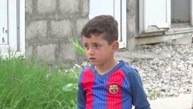 Chlapce ve třech letech unesl ISIS, protože ho táta pojmenoval Messi po známém fotbalistovi
