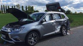 Tragická nehoda na Mělnicku: Tři mrtví!
