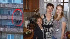 Šokující video: Učitelka Svetlana (45) udusila dceru (†12) a vyhodila ji z balkonu!