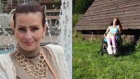 Alena ochrnula po přechozené chřipce: Bez pomoci se ani neotočila na posteli