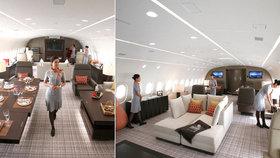 Luxusní Boeing Dreamjet: Můžete si ho pronajmout za 640 tisíc na hodinu