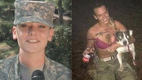 Vojačka v bikinách (23) zastřelila psa: Pak spáchala sebevraždu
