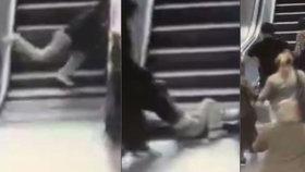Děsivé video: Chlapce (9) pohltil eskalátor. Vyřezávali ho rozbruskou