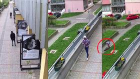 Povalil seniorku (79) na zem kvůli pár stovkám: Policie hledá nezletilého zloděje