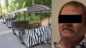 Řidič vláčku v zlínské zoo způsobil nehodu se šesti zraněnými: Dostal podmínku
