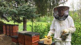 """Hrál v Ordinaci i divadle, teď je z něj včelař. """"Bylo to jako osvícení,"""" říká Milan (61)"""