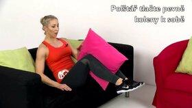 Cvičení pro gaučové povaleče: Jak vám polštář pomůže od bolesti zad?