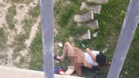 Nadržená dvojice souložila pod bratislavským mostem: Natvrdo si to rozdávali, říká svědek Martin