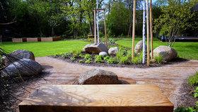 Ferdinandovy zahrady: Jak do zahrady zakomponovat velké kameny?