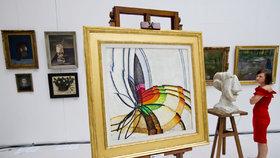 Kupkův obraz zůstal v dražbě na ocet. Malbu za 49 milionů nikdo nechtěl