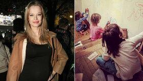 """Divoženka Helena Houdová: Nechala děti """"vymalovat"""" stěnu v jejich bytě"""