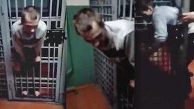 Nejhorší útěk z vězení v historii? Tenhle nešťastník se zaseknul mezi mříží