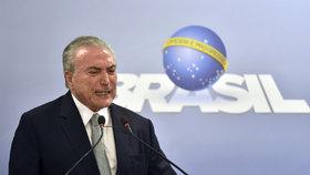 Potopí zkažené maso brazilského prezidenta? Prokuratura ho viní z korupce