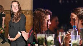 Langerová s novou holkou na baru: Náhrada za těhotnou Špátovou?