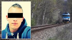 Prokletá trať v Mlékojedech si vyžádala další život: Pod koly vlaku zemřel Jirka (†23)