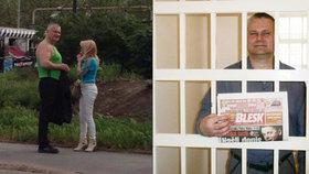 »Love story« Kajínka a jeho Magdy: Byla to láska přes mříže!