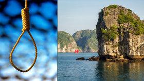 Smrt v asijském ráji: Chlapce (†19) našli oběšeného na vyhlídkové lodi