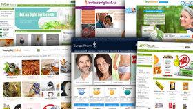 """E-shopy prodávají """"zázračné"""" léky. Experti: Padělky ohrožující zdraví"""
