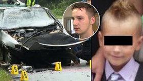 Vratislav (19) při nehodě zabil Šimonka (†9): Po maturitě jde do basy!
