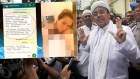 Kazatel islámu bojoval proti pornografii. Milenka mu ale posílala hanbaté fotky
