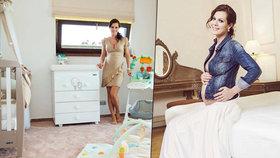 Těhotná Doleželová a její boháč: Nový dům a pokojíček pro miminko!