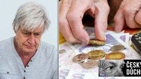 Důchodci dostávají peněz dost, tvrdí mladí. Milion seniorů nemá ani 12 tisíc