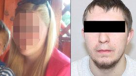Terezu (22) její přítel držel v zajetí: Vyhrožoval jí zabitím, teď skončil v policejní cele