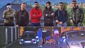 Youtubeři se vloupali do Krejčířovy vily, zkusili trezor i záchod, hráli fotbal: Uvnitř pak policie zatkla jejich fanoušky