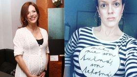 Hvězda Ordinace Andrea Růžičková vystrčila pupek: Nejsem tučná, ale těhotná!