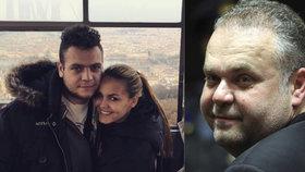 Krejčířův syn se tajně oženil?! Aby zabránil deportaci přítelkyně z Česka, tvrdí detektiv
