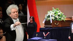 Poslední rozloučení s Jiřím Bělohlávkem (†71): Pohřeb v rodinném kruhu