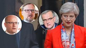 """""""Za hloupost se platí. Risk nevyšel."""" Čeští politici reagují na britské problémy"""