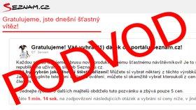 Ne, Seznam.cz nerozdává iPhony 7. Nenechte se nachytat falešnou soutěží