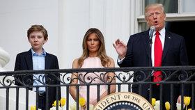 Trumpovi dorazila rodina: Melania se i se synem přestěhovala do Bílého domu