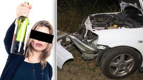 Žena bourala krátce před porodem: Byla opilá jak hospodský povaleč!