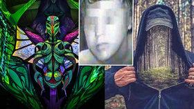 Týraní chlapci z Kuřimi: Starší má Facebook plný temných obrázků, mladší je umělec