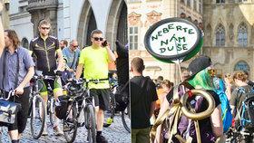 Praha 1 sleduje provoz cyklistů na pěších zónách. Pak rozhodne o omezení