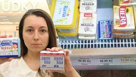 Drahé máslo v Česku: Reálně stojí 45 korun, tvrdí svaz. Co žene ceny výš?