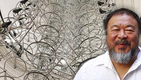 Aj Wej-wej zanechá v Praze trvalou stopu: Lustr čínského umělce vystaví Národní galerie