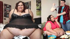 Baculka (317 kg) chtěla být nejtlustší ženou světa. Otěhotněla a začala hubnout