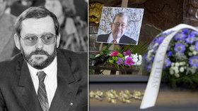 Na pohřeb překladatele a pražského primátora dorazili hlavně umělci: Srdce byla doKořán