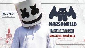 Marshmello vystoupí poprvé v Česku! Maskovaný DJ zahraje v Praze