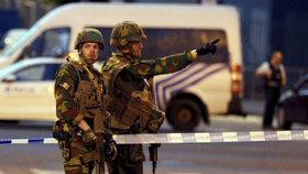 Terorista, který se se pokusil odpálit v Bruselu, zemřel. Policie útok překazila