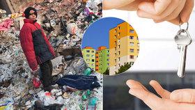 """Romové shánějí byt: Televize v zastavárně i plošné """"ne"""" všem"""