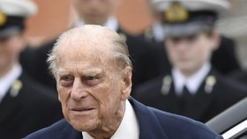 Nemocný princ Philip: Manžela královny Alžběty II. propustili z nemocnice